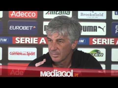 Gian Piero Gasperini in conferenza stampa vigilia Siena-Palermo - 26/10/2012 - Mediagol.it
