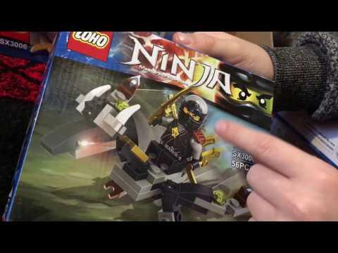 Обзор наборов копии Лего ниндзяго Ллойд Гармадон, Джей, Кай, Зейн, Коул, Ния