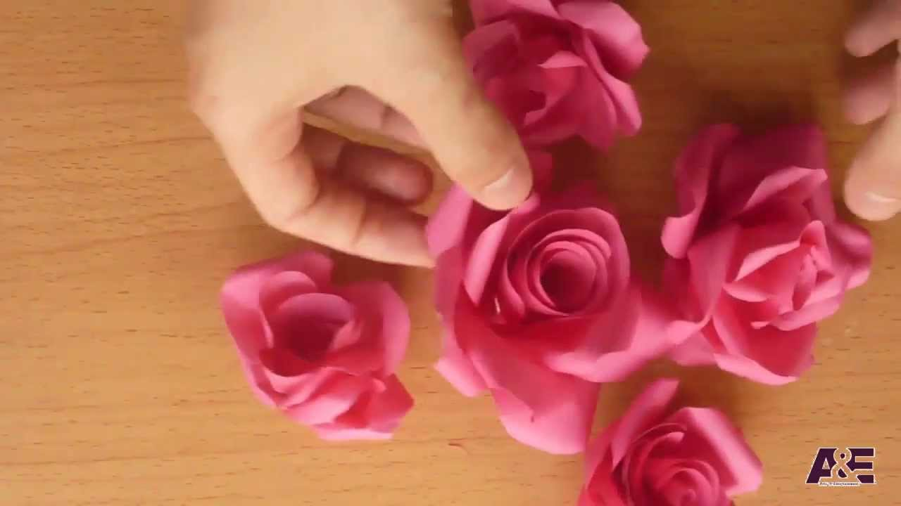 make paper roses Just in time for the start of wedding season and mother's day, here's an easy how -to for beautiful tissue paper roses they might look.