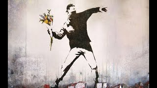 A Banksy mural for sale