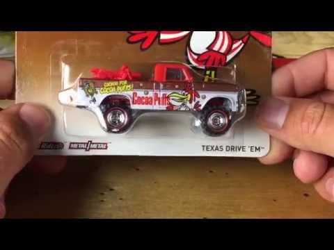 Hot Wheels General Mills 2014 Pop Culture featuring Texas Drive Em!
