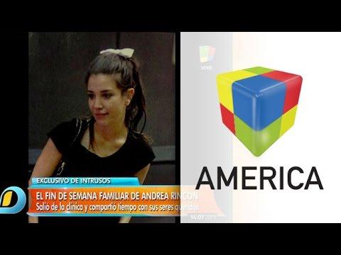 Andrea Rincón entre las salidas transitorias y un reality show