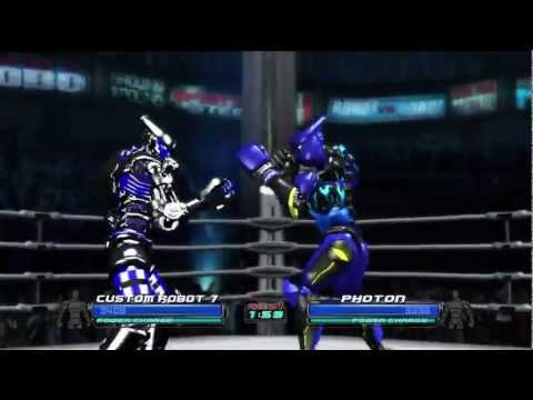 Real Steel - Custom Robots (Xbox 360) HD 720p