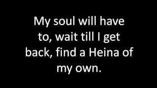 Sublime Video - Santeria (Sublime) - Lyrics