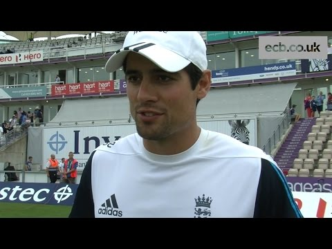 'A great day for England' - England captain Alastair Cook after 95 v India