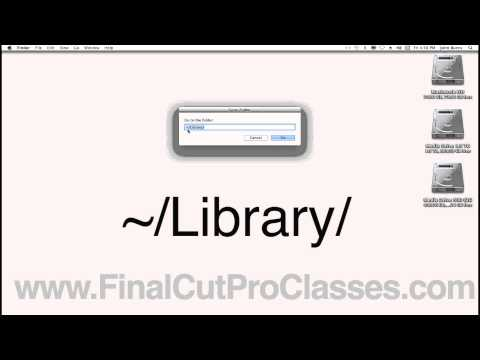 Resetting or dumping Final Cut Pro Studio preferences in Lion OS X 10.7 library folder gone