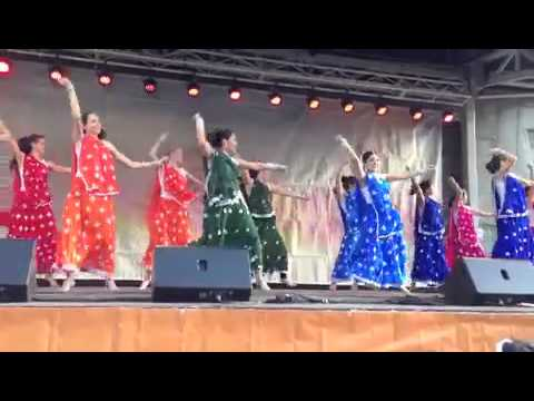 JHOOM Bollywood Dance Company at Buddha's Day Festival, Fed Square May 19th 2013