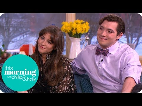 Dancing on Ice's Brooke Vincent Nearly Came a Cropper in the Snowy Weather | This Morning