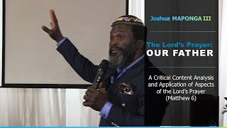 01. Our Father of All Nations || Joshua Maponga