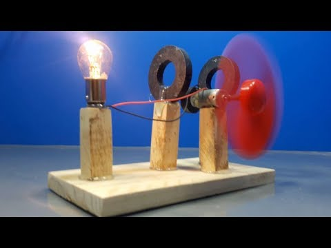 free energy light bulb using magnet _ science project thumbnail
