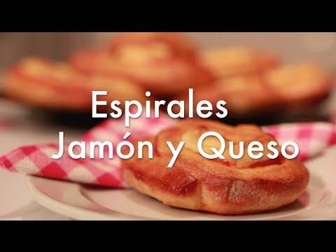 Aperitivos Fáciles para Fiestas - Espirales de Jamón y Queso