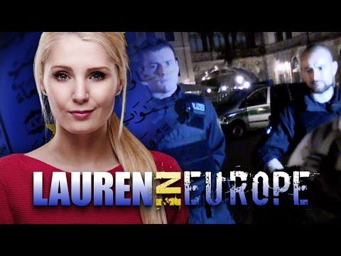 Lauren Southern in Europe: Police harrass journalists at Bilderberg