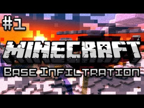 Minecraft: Military Base Infiltration Part 1 - Super Zombies