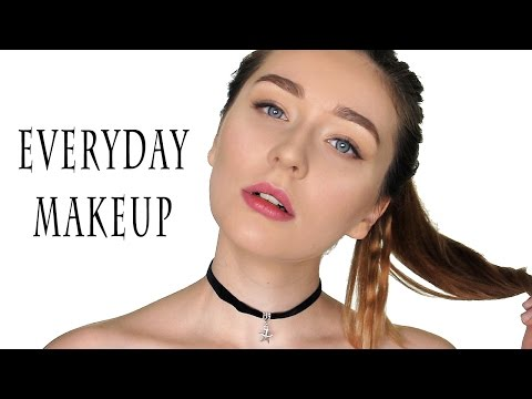 Мой дневной повседневный макияж / Макияж на каждый день / Быстрая коррекция лица