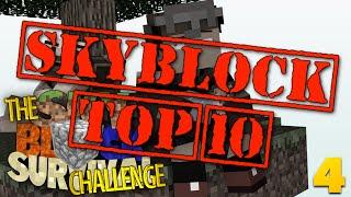 Minecraft Top 10 Skyblock | ISLANDS | Skyblock: REDUX #4 (Skyblock Minecraft Challenge)