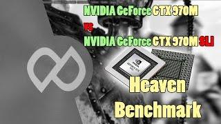 Benchmark NVIDIA GeForce GTX 970m VS GTX 970m SLI نقطة التطوير | مقارنة بين