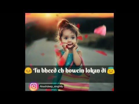 New sad whatsapp status | Main jo vi haan sajna ik tere karke | whatsapp status video
