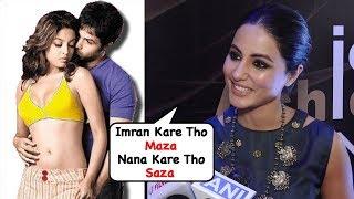 Heena Khan's Funny Comment On Tanushree Dutta & Nana Patekars Current Incident