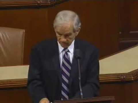 Ron Paul: The Big Guns Have Lined Up Against HR 1207 (House Floor 7/30/09)