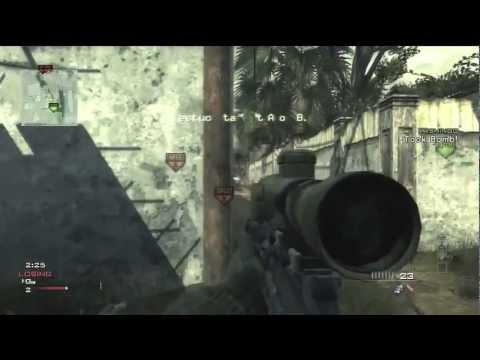 MW3: Search and Destroy QUAD with MSR (Best Clip Ever)