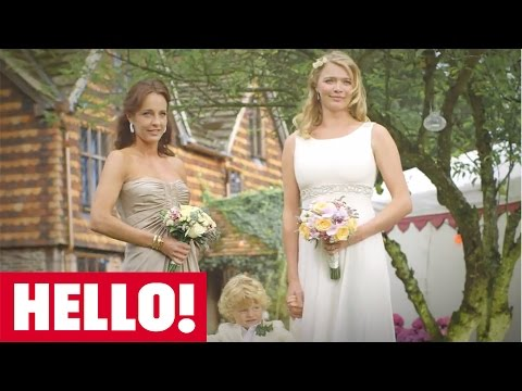Exclusive: Jodie Kidd and David Blakeley invite HELLO! to their intimate English country wedding