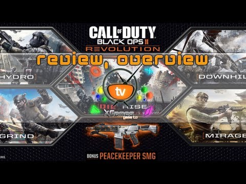 Обзор, овервью Call of Duty: Black Ops 2 Revolution DLC (review, overview)