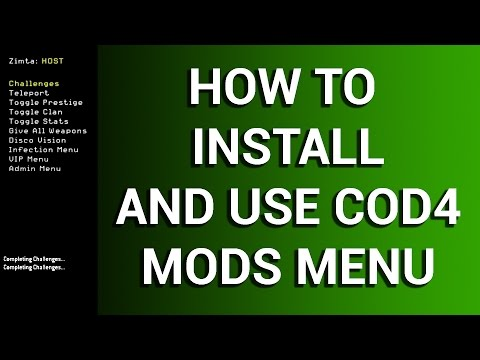 How To Install And Use COD4 Mod Menu (Best Free COD Hack) Tutorial