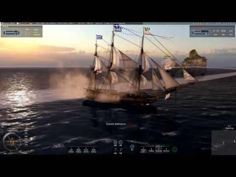 Naval Action: Big PVP battle (HMS Trincomalee)