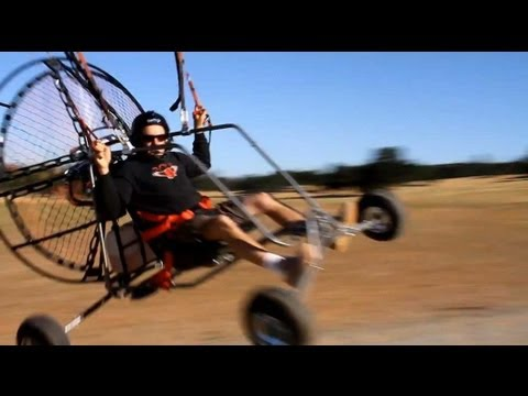 Paramotor Review - BlackHawk's NEW AirMax 220 Powered Paraglider!