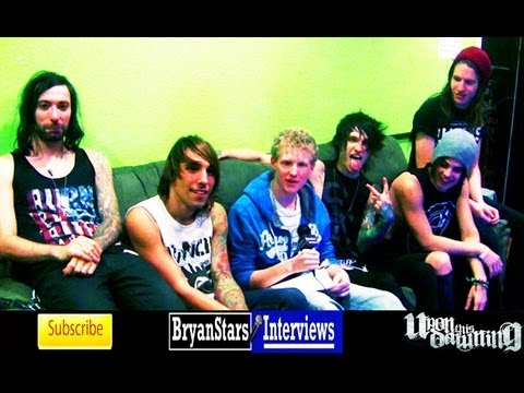 Upon This Dawning Interview Motionless In White Tour 2013