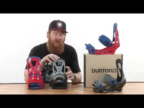 Burton Custom vs Burton Freestyle Snowboard Bindings 2016-Review-The-House.com