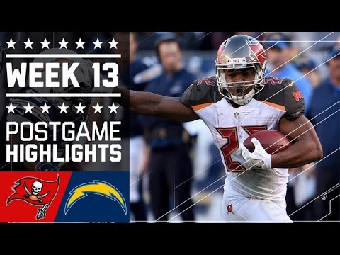 Buccaneers Vs Chargers Nfl Week 13 Game Highlights