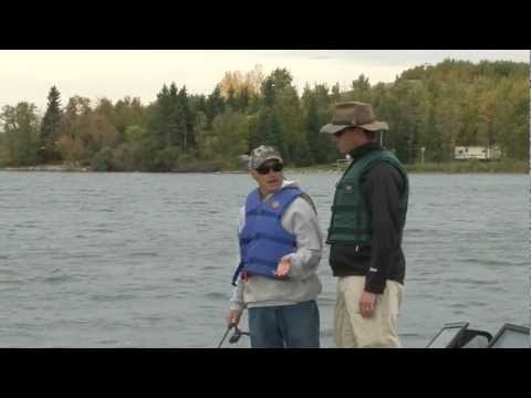 Pine lake Alberta fishing with The Dimestore Fishermen