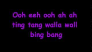Witch Doctor -Ooh Eeh Ooh Ah Aah Ting Tang  (lyrics)