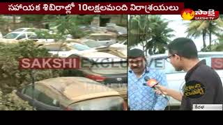 Sakshi Exclusive Ground report From Kerala -- కేరళ వరదల్లో మునిగిన కొత్త కార్లు ..భారీ నష్టం - netivaarthalu.com
