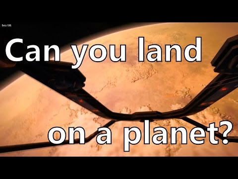 Elite Dangerous Landing on planet Tilian 1. Is planetary landing possible? (beta)