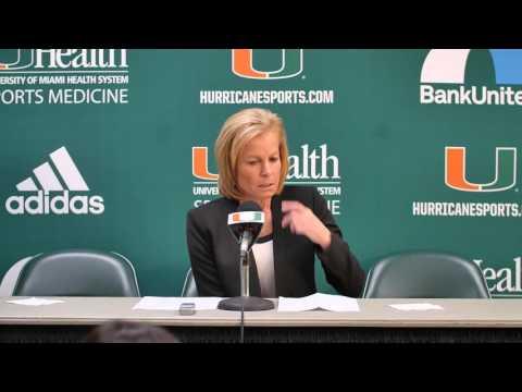 Florida State Head Coach Sue Semrau | Post Game Presser | 1.24.16
