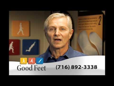 Arch supports Orthotics Buffalo Foot pain back pain heel pain Good feet Store plantar fasciitis
