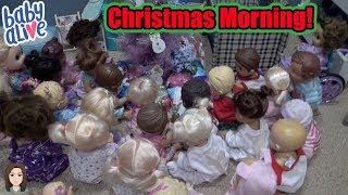 Baby Alive Christmas Morning 2017! | Kelli Maple