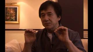 Jackie Chan interview during his Cambodia visit on invitation of the International Peace Foundation