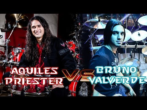 Aquiles Priester Vs Bruno Valverde - Angra Angels And Demons video