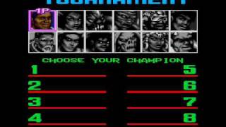 Shaq Fu Music-Tournament
