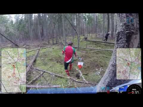 WMOC 2016 Long qualification 1 headcam