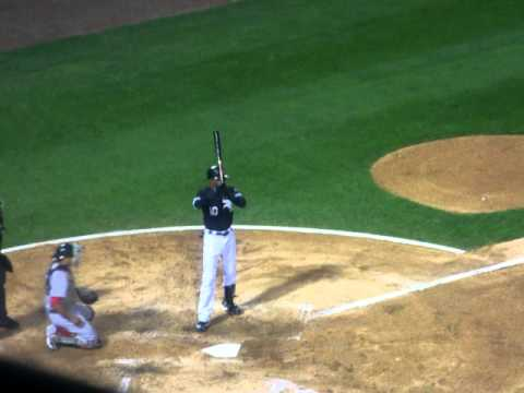 Alexei Ramirez batting