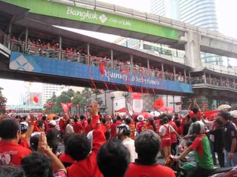 """Red around the World"" @ Ratchaprasong, Bangkok – 19 September 2010"