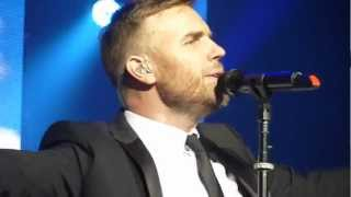 "Gary Barlow Solo Tour - ""PRAY"" - Nottingham Royal Concert Hall - 22/11/12"