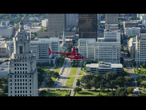 Experiences of Student Helicopter Pilot Kyle Guidry - Baton Rouge Community College
