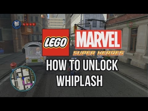How to Unlock Whiplash - LEGO Marvel Super Heroes