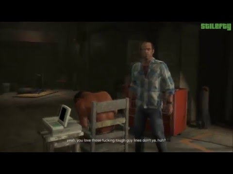 GTA 5 PS3 - Mission #25 - By the Book - Alternative Cutscene