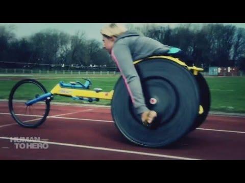 Wheelchair racer strives for Rio